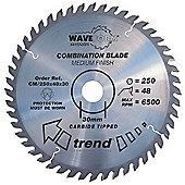 Trend CM/230X40X30 Saw blade combination 230mm x 40 teeth x 30mm - Silver