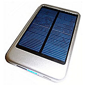 Dynamode Power Bank - Portable USB/Mini/Solar USB Charger 5000mAH Silver