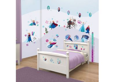 Walltastic Disney Frozen Room Decor Kit - 88 Stickers