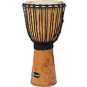 "World Rhythm 12"" Jammer Rough Bark Natural Djembe"