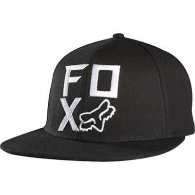 Fox Shock Baseball Cap - Black Size: One Size
