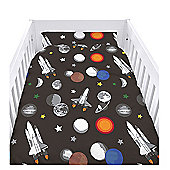 Galaxy Cot Duvet Cover Set with Pillowcase