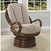 Desser Santiago Swivel Rocker Chair & Figaro Cushions