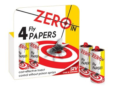Stv Zer015 Fly Papers X4