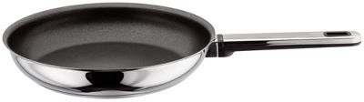 Stellar Stay Cool Stainless Steel Non-Stick 24cm Frying Pan