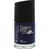 Rimmel Salon Pro Nail Polish 12ml - 447 Barmy Blue