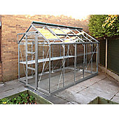 Rhino Premium Greenhouse – 6x10 - Natural Aluminium Finish