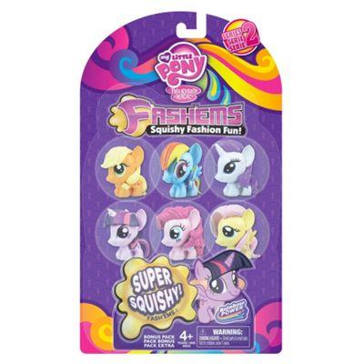 My Little Pony Mashems Value Pack Toy Figure Set of 6