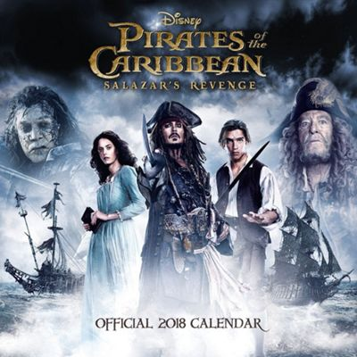 Pirates of the Caribbean 5 2018 Square Calendar 30 x 30cm