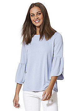 F&F Modal Rich Bell Sleeve Top - Lilac