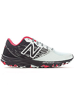 New Balance 690v2 Speed Ride Trail Womens Ladies Running Trainer Shoe Black/Pink - Black