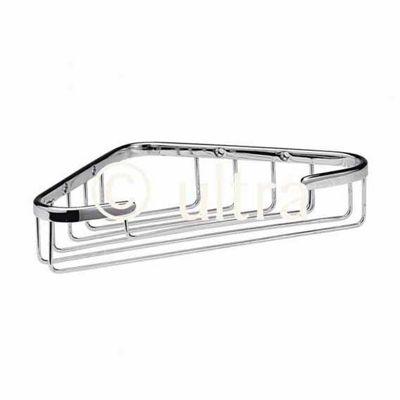 Ultra Wirework Deep Corner Shower Basket in Chrome