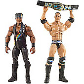 WWE Elite Nation Action Figures The Rock & Faarooq