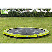 EXIT Twist Ground Trampoline (10ft) Green/Grey