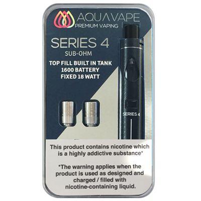Series 4 Starter Kit (Sub Ohm) - Black