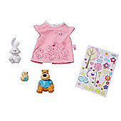 Baby Born Bear & Bunny Outfit with Toys