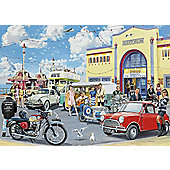 Falcon De Luxe - The Disco Hall - 500pc Jigsaw Puzzle - Jumbo