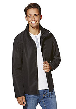 F&F Shower Resistant Ripstop Jacket - Black