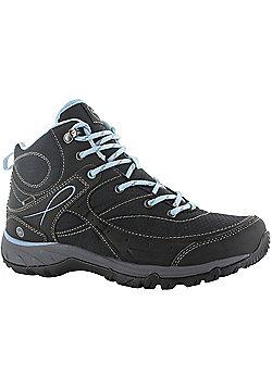 Hi-Tec Ladies Equilibrio Bijou Mid Boot - Black