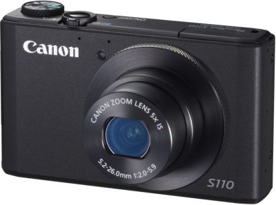 Canon PowerShot S110 Digital Camera Black