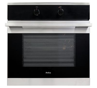 Amica 10533X Built-in or Under Electric Single Multifunction Oven, 60cm