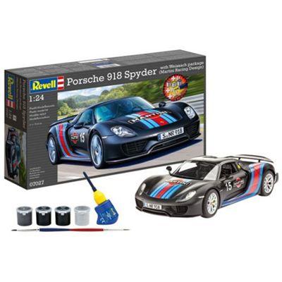 Revell Model Set Porsche 918 Spyder with Weissach package