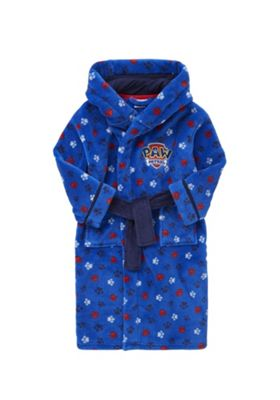 Nickelodeon Paw Patrol Hooded Dressing Gown 3-4 yrs Blue
