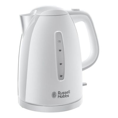 Russell Hobbs Textures Jug Kettle, 1.7L - White