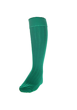 Precision Training Plain Football Socks - Green