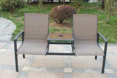 Royalcraft Taupe Garden Companion Seat