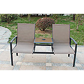 Royalcraft Taupe Garden Companion Seat