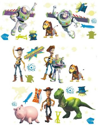 Toy Story Stickarounds, 50