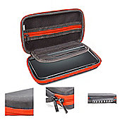 Orzly Carry Case for Nintendo 3DS XL or New 3DS XL- Black/Red
