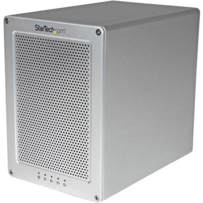 StarTech.com 4-Bay Thunderbolt 2 Hard Drive Enclosure with RAID Quad-Bay 3.5