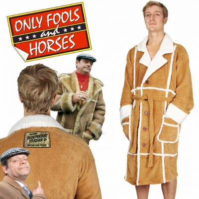Only Fools and Horses Del Boy Dressing Gown