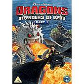 Dragons: Defenders Of Berk Part I Dvd