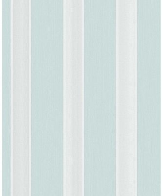 Cavendish Stripe Teal Wallpaper