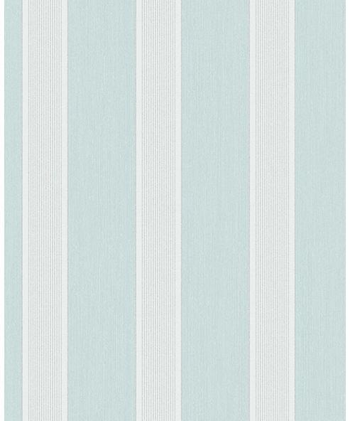 Cavendish Stripe Teal Wallpaper