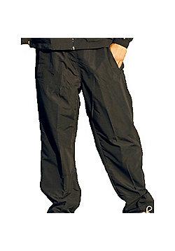 Precision Classic Water Repellent Plain Sportsware Pants Trousers - Black