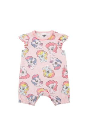 Hasbro My Little Pony Print Romper Pink Multi 6-9 months