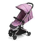 Mee-Go Trio Stroller - Orchid on a Rose Gold Frame