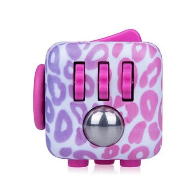 Fidget Cube Original Anti-Stress Toy - Pink Pattern (Styles Vary)