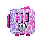 Fidget Cube Original Anti-Stress Toy- Pink Pattern (Styles Vary)
