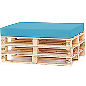 Water Resistant Pallet Seat Cushion - Turquoise