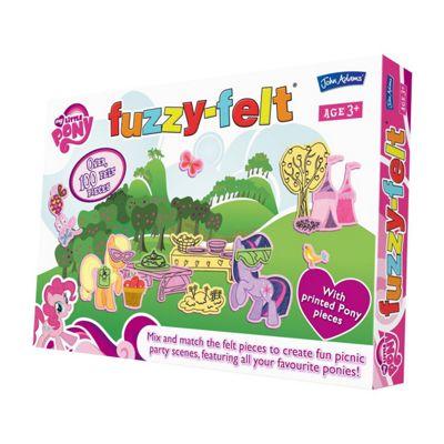 Fuzzy Felt - My Little Pony - John Adams