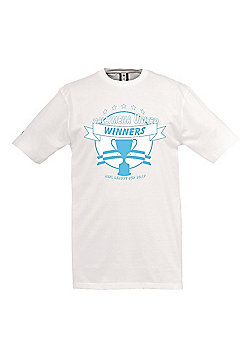 Uhlsport BUFC League Cup Winners Tee 2017 - White