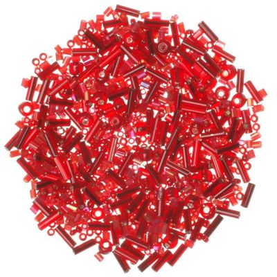 Shades of Red Glass Beads