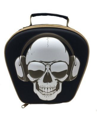 Polar Gear Kids 3D EVA Lunch Bag, Skull