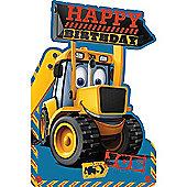 JCB Happy Birthday Card