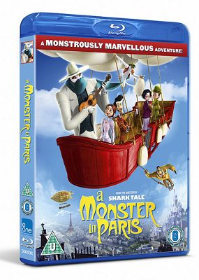 A Monster In Paris (3D Blu-ray)